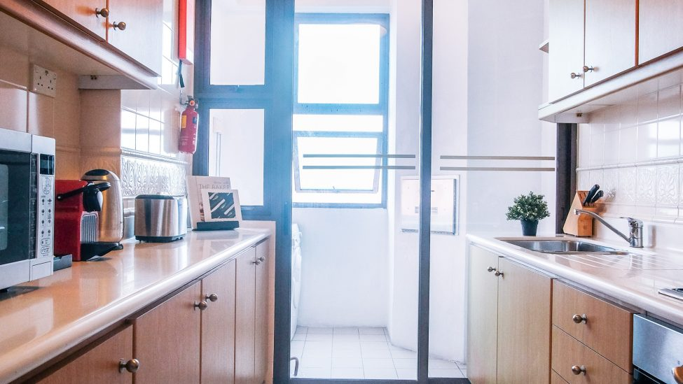 Two Bedroom Grand Terrace Kitchen