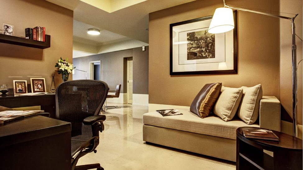 study area of four bedroom serviced residences singapore