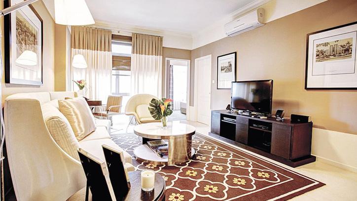 living room furnishings for short term accommodation singapore